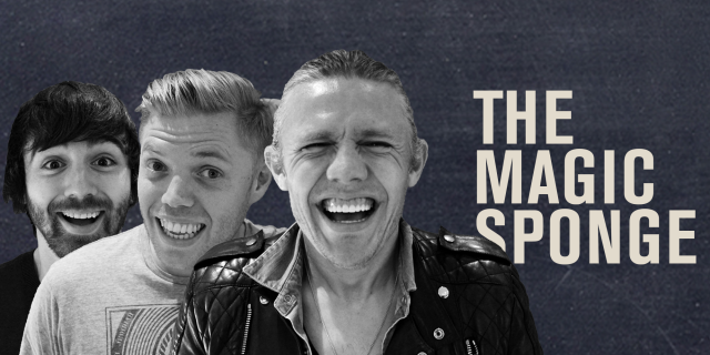 The Magic Sponge football podcast with hosts Jimmy Bullard, Rob Beckett and Ian Smith.