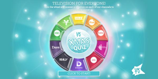 UKTV Christmas Quiz