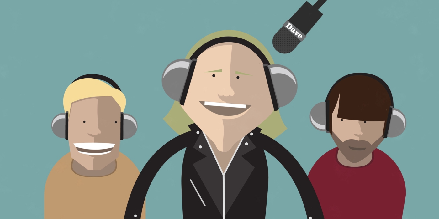 Jimmy Bullard, Rob Beckett and Ian Smith present The Magic Sponge podcast.