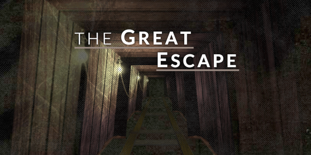 Exploring The Great Escape tunnels
