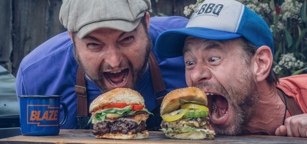 Tony Smith and DJ BBQ are the Blazin' BBQ Masters